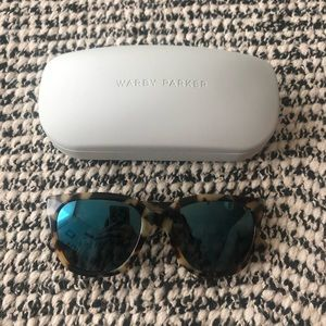 Warby Parker Tortoise Shell Sunglasses
